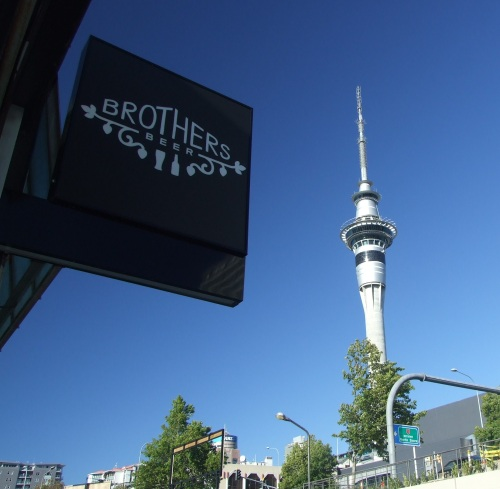 Brothers Beer, central Auckland.