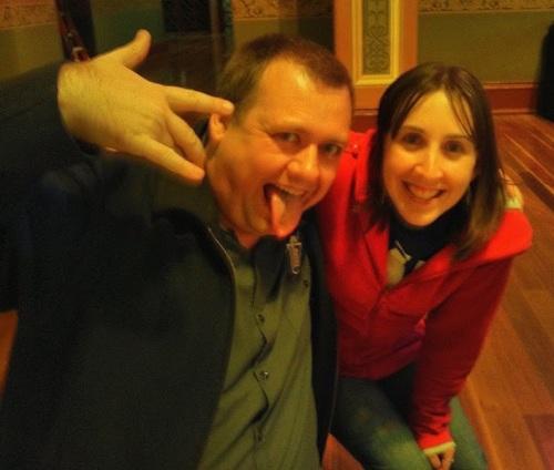 Brewaucracy's Greig McGill and I at  GABS 2013.